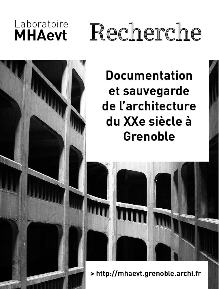Documentation et sauvegarde de l'architecture du XXe