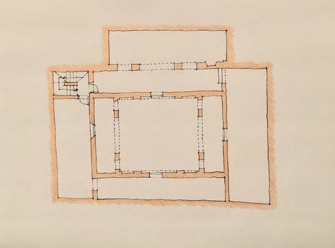 Plans des niveaux réactualisés : rez de chaussée, étage