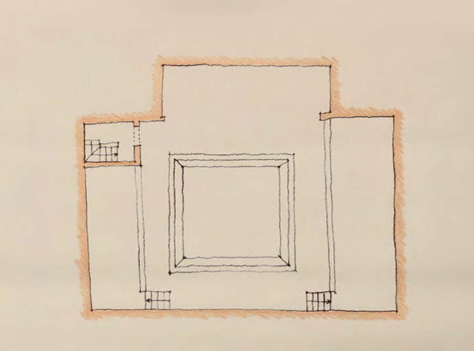 Plans des niveaux réactualisés : toiture terrasse